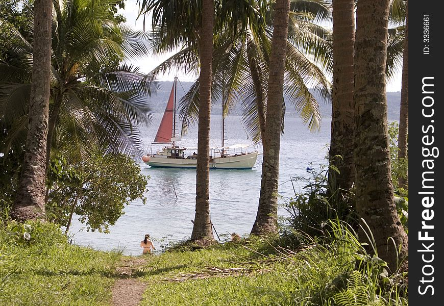 Cruising in the South Pacific