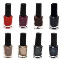 Free Nail Polish Set Stock Photos - 33302143