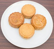 Free Mooncakes. Royalty Free Stock Photography - 33302257