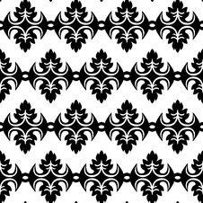 Free Black And White Geometric Seamless Pattern Royalty Free Stock Photos - 33302888