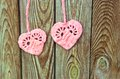 Free Two Hearts As A Symbol Of Love Royalty Free Stock Photography - 33317637