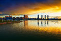 Free The Beautiful City Royalty Free Stock Image - 33317816