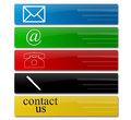 Free Contact Signs Stock Images - 33318384
