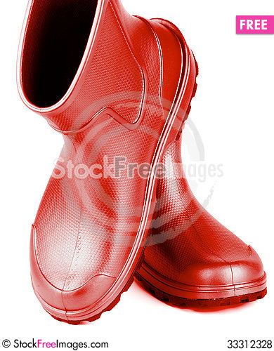 Free Rubber Boots Royalty Free Stock Photos - 33312328