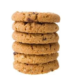 Free Chocolate Chip Cookies Royalty Free Stock Photos - 33314268