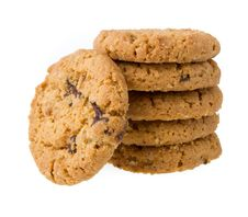 Free Chocolate Chip Cookies Stock Photography - 33314282