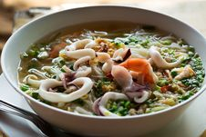 Free Hot And Sour Soup Royalty Free Stock Image - 33319486