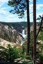 Free Yellowstone Lower Falls Panorama 5 Stock Photos - 33322373