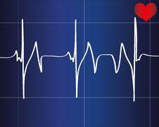 Free Heart Beat Stock Photo - 33320140