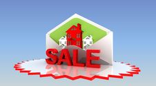 Sale Real Estate Royalty Free Stock Images