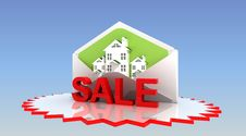 Sale Real Estate Royalty Free Stock Photos