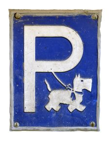 Free Dog Parking Royalty Free Stock Photography - 33320627