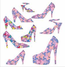 Free Decorative Shoes Royalty Free Stock Image - 33323266