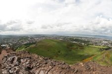 View From Arthur S Seat, Edinburgh Stock Image