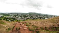 View From Arthur S Seat, Edinburgh Royalty Free Stock Photos