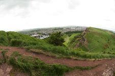 View From Arthur S Seat, Edinburgh Stock Photography