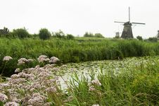 Free Windmill At Kinderdijk, Netherlands Stock Photo - 33326790