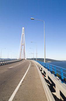 Free Big Suspension Bridge Stock Image - 33329531