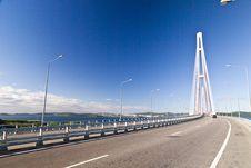 Free Big Suspension Bridge Stock Images - 33329554