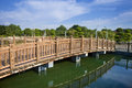 Free Wooden Footbridge Royalty Free Stock Photography - 33333557