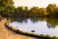 Free Early Autumn Lake Royalty Free Stock Photography - 33334577