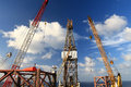 Free Jack Up Offshore Drilling Rig Stock Photo - 33335040