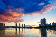 Free The Beautiful Sunset Glow Royalty Free Stock Photography - 33330327