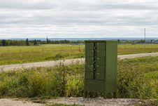Free A Green Mailbox By The Roadside Stock Images - 33331474