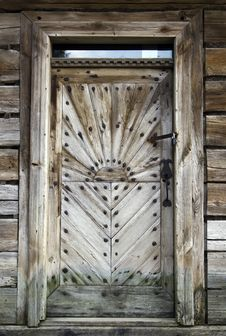 Free Wooden Door Royalty Free Stock Photography - 33336157