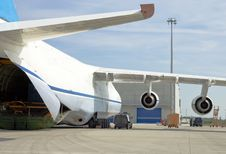 Free Antonow Airplane Closeup Stock Photography - 33337742