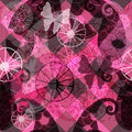 Free Seamless Dark Purple Pattern Stock Photography - 33342792