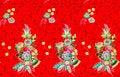 Free Colorful Batik Cloth Fabric Stock Image - 33345401