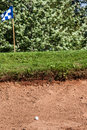 Free Sand Trap Royalty Free Stock Photos - 33348368