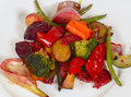 Free Plate Of Grilled Vegetables Stock Photo - 33349990