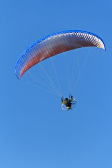 Free Powered Parachute Royalty Free Stock Image - 33342456