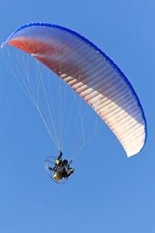 Free Powered Parachute Stock Image - 33342511