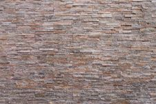 Sand Stone Brick Wall Texture Stock Photo