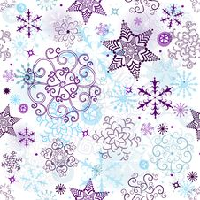 Free Christmas Seamless Pattern Stock Photography - 33342922