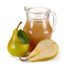 Free Pear Juice And Fruit Royalty Free Stock Photos - 33345628