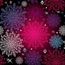 Free Seamless Colorful Christmas Pattern Stock Image - 33345971