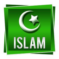 Free Islam Green Square Royalty Free Stock Photography - 33347667