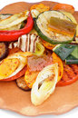 Free Grilled Vegetables Royalty Free Stock Photography - 33356487
