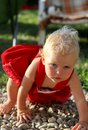 Free Blonde Gorgeous Baby Girl Stock Photos - 33357693