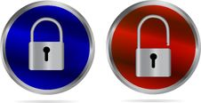 Free Icon - Lock And Unlock Stock Images - 33356414