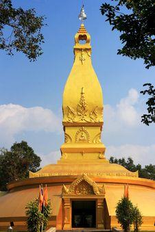 Free Pagoda Of Thailand Royalty Free Stock Photos - 33361488
