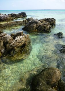 Free Tanjung Gelam Beach Royalty Free Stock Photos - 33363008