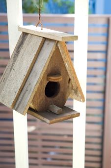 Bird S House Royalty Free Stock Photo