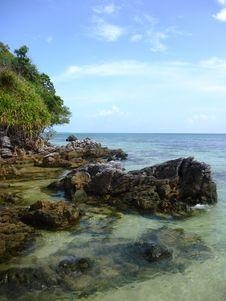 Free Tanjung Gelam Beach Stock Images - 33364634