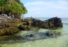 Free Tanjung Gelam Beach Royalty Free Stock Photos - 33365238
