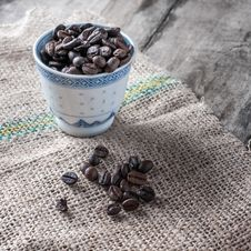 Free Coffee Beans Royalty Free Stock Photo - 33365315